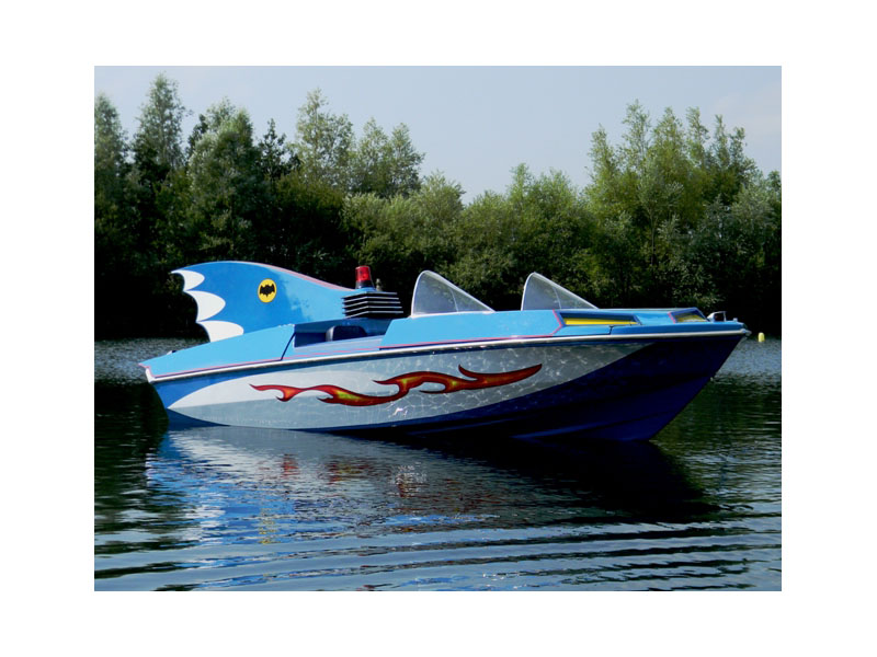 1966 Glastron Batboat a